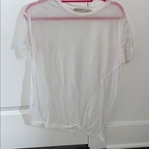 All Saints short sleeves white t-shirt